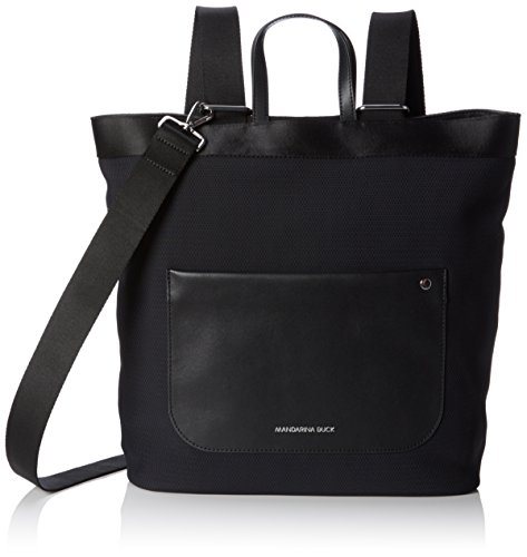 Mandarina Duck Womens Camden TRACOLLA 40X38X12 cm black shoulder bag