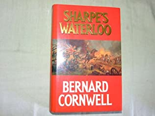 book cover of Sharpe\'s Waterloo