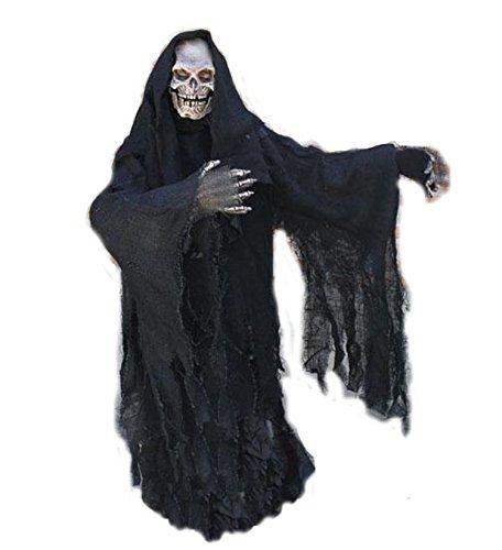Zagone Grim Reaper with Hood Full Adult Costume]()