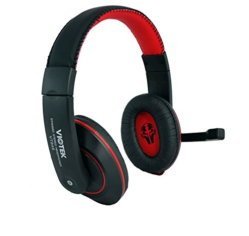 VIOTEK Hi-Fi Gaming Headset with Noise-Cancelling Microphone VT849