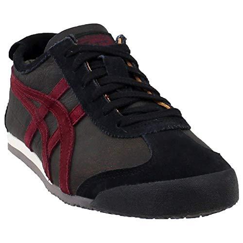 Onitsuka Tiger Unisex Mexico 66 Shoes 1183A051, Dark Sepia/Portroyal, 12 M US