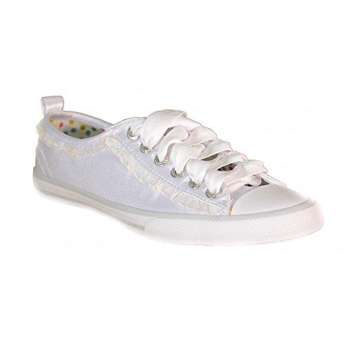 Primigi - Primigi Kinder Sportschuhe Weiss Textil 62080 Weiß