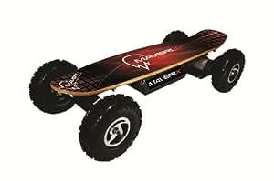 Maverix BorderX 800W Electric Skateboard, Red