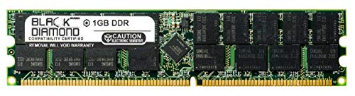 1GB RAM Memory for Fujitsu PRIMEPOWER 250N 184pin PC2100 DDR RDIMM 266MHz Black Diamond Memory Module Upgrade
