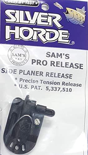 (Silver Horde Sam's Pro Release Side Planer Release Planer Board Black 1 per Package)