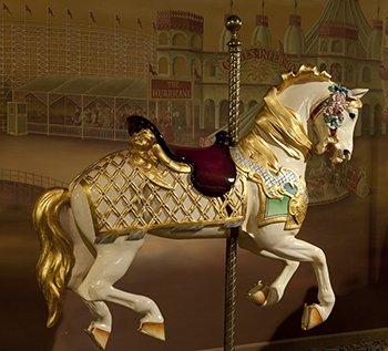 Photo New England Carousel Horse Museum, Bristol, Connecticut ()