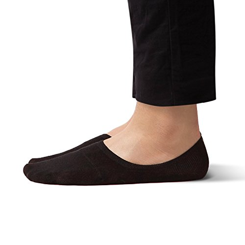 No Show Non Slip Low Cut Boat Socks for Men - Sheec SoleHugger Active - Combo Regular 6 pairs
