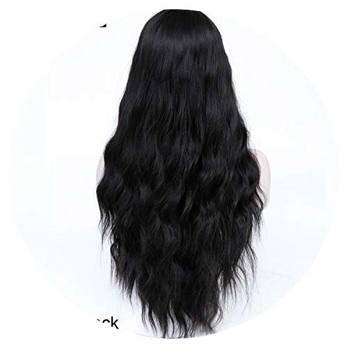Long Brown Hair Wigs Kinky Curly Wigs For Women Fake Hair Pieces,#2,26inches]()