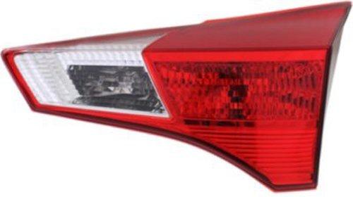 Crash Parts Plus Passenger Right Side Tail Light Tail Lamp for 13-14 Toyota RAV4
