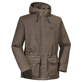 good looking new styles shades of Jack Wolfskin Herren Parka Portsmouth Men