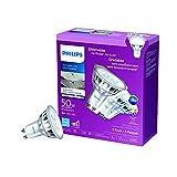 Philips 468124 Led 50W GU10 Glass Bright White (3000K) 3 Pack