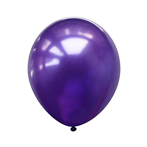 Neo LOONS 5 Pearl Purple Premium Latex Balloons -- Great for Kids , Adult Birthdays, Weddings , Receptions, Baby Showers, Water Fights, or Any Celebration, Pack of 100