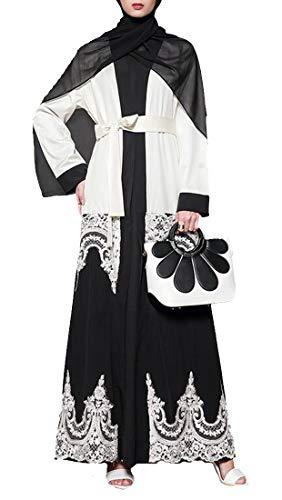 Pandapang Women Abaya Muslim Arabia Saudi Gown Coat for sale  Delivered anywhere in USA