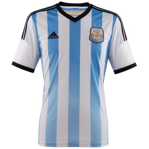 b51705e29be Argentina soccer jersey World Cup 2014, Messi, Higuain, Lavezzi, Aguero  official names offered. by g2g sport chicago