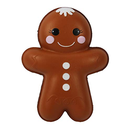 Collectibles Gingerbread - Dazzling Deals Be Jolly Collectible Squishy Toy Gingerbread Man