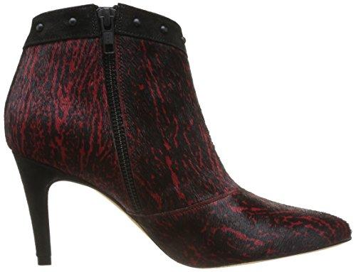 Colcer Jax Tatoosh Rouge Boots femme P0pXq