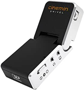 WowWee 8410 Cinemin Swivel Portable Audio/Video Multimedia Pico DLP Mini LED Projector