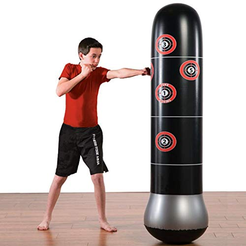 Miuniu Kick Training Inflatable Boxing Punching Bag Sandbag Adult Children SPOR Home Gyms