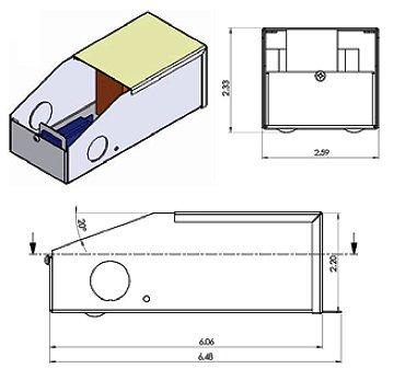 LEDwholesalers Dimmable 12-Volt DC Magnetic Transformer Power Supply for LED Flexible Strips, Class 2, ETL Listed, 60 Watt, 3231-12V
