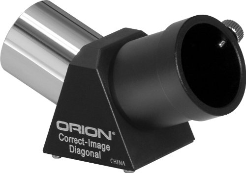 Orion 7216 1.25-Inch 45-degree Correct Image Prism Telescope Diagonal