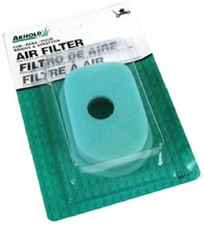 Amazon.com: Arnold Briggs & Stratton filtro de aire de ...