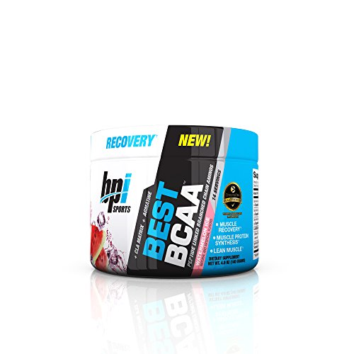 BPI Sports Best BCAA Powder, Branched Chain Amino Acids, Watermelon Ice – Zero Sugar Recovery Sports Drink Powder – Build Muscle, Improve Focus and Enhanced Energy Levels, 30 Servings, 10.58 Ounce Review