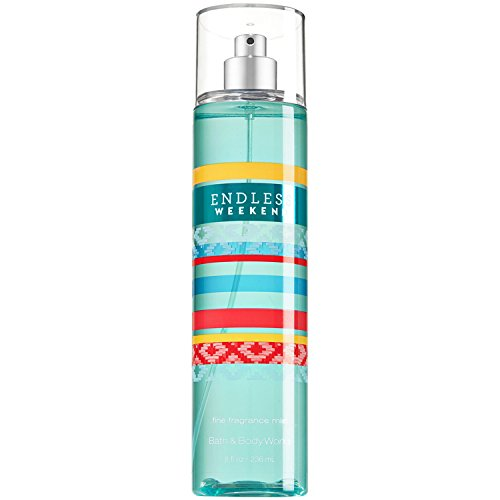 Bath & Body Works Fine Fragrance Mist for Women, Endless Weekend, 8 (Nectar Mist)