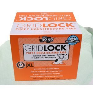 4 Cases of 40 Pack 27.5'' X 35.5'' Extra Large Gridlock Housebreaking Wee Wee Pads (160 Pads Total)