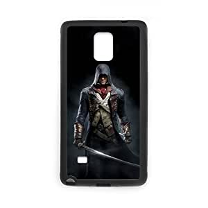 High Quality Assassin's Creed Black Flag Game Samsung Galaxy note 4 Case Cover (Laser Technology)