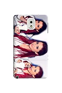 waterproof 2014 Lovely Ariana fashionable Plastic TPU phone Protective Case Cover for Samsung Galaxy Note III