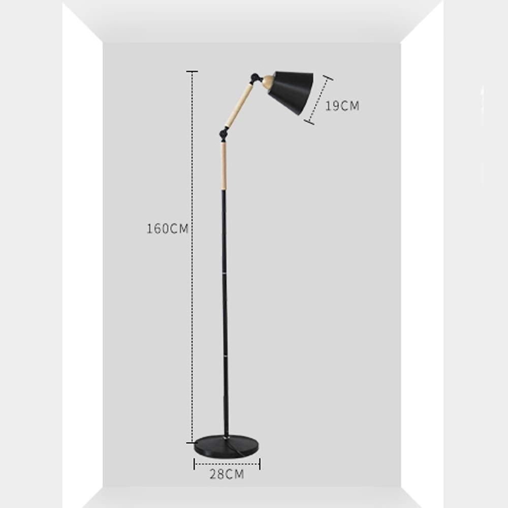 ZSAIMD Oficina moderna Lámpara de pie Hogar Ajustable Brazo ...