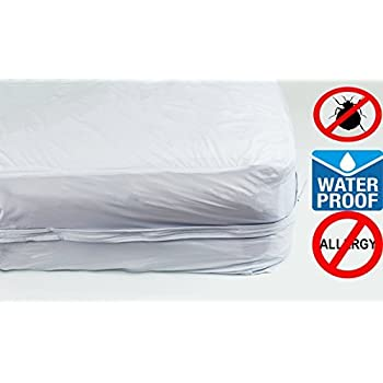 Amazon Com Bed Bug Barrier Mattress Cover Full Size Home