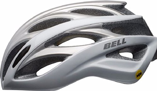 Bell-Overdrive-Mips-Matte-White-Silver-Ombre-Road-Sport-Bike-Helmet-Size-Large