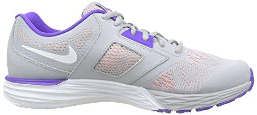 Nike Tri Fusion Run Laufschuh Wolf grau / lila / pink / wei� Grö�e 8,5 M Us