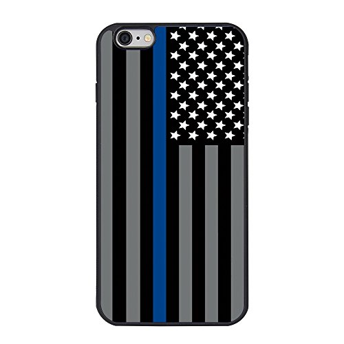 Thin Blue Customized Cover iPhone