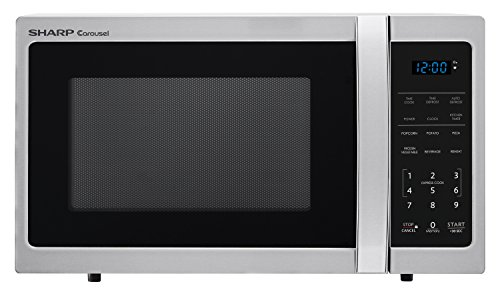 Sharp Microwaves ZSMC0912BS Sharp 900W Countertop Microwave Oven, 0.9 Cubic Foot, Stainless Steel Review