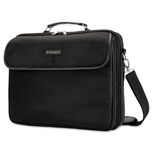 Kensington : Simply Portable 30 Notebook Case, 15 3/4 x 3 x 13 1/2, Black -:- Sold as 2 Packs of - 1 - / - Total of 2 Each
