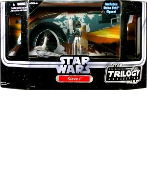 Slave 1 with Boba Fett Figure - Star Wars OTC Vehicle (Boba Fett Slave 1 Vehicle)