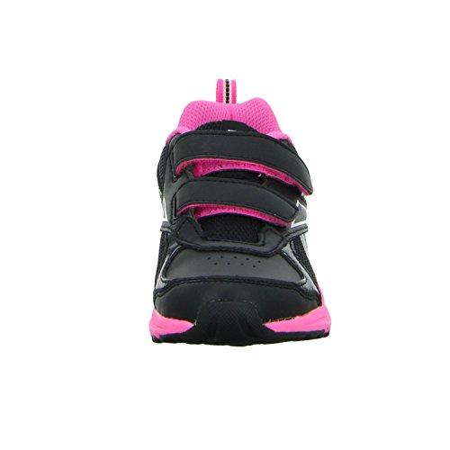 Reebok Rbk Almotio Rs 2v Brights - Zapatillas de deporte Niñas Negro (Black / Poison Pink / Wht)