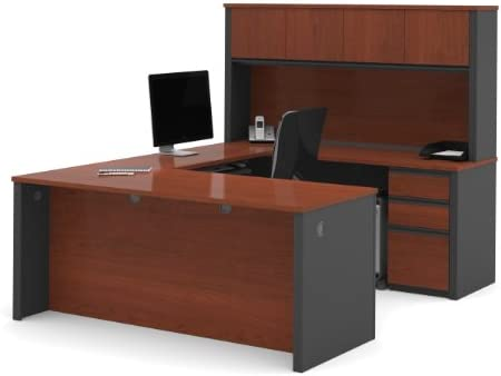 Bestar Office Furniture Prestige Plus Collection Reversible U-Desk