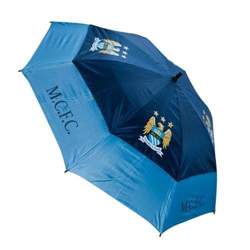 ダブルキャノピー傘ゴルフ傘 – マンチェスターシティ B00IILESU6