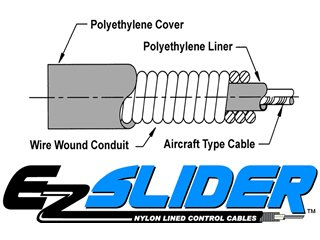 EZ Slider 1pc Cable Set, 1973-83.5 Suburban & Blazer #26-4283 by Old Air Products (Image #2)