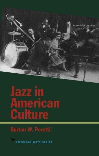 Jazz in American Culture (American Ways)
