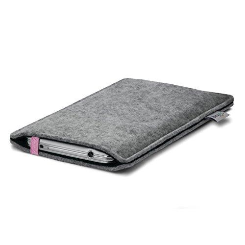Stilbag Etui Feutre 'LEON' pour Apple iPhone 3Gs - Couleur: rose-gris