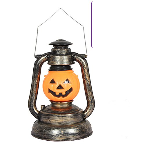 Cosplay Costume Sites (Site layout for Halloween props/ horror music ghost light/ portable kerosene glowing pumpkin-F)
