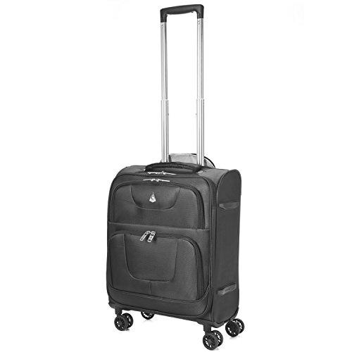 "Aerolite 4 Wheel Spinner 24x16x10"" Lightweight Luggage Su..."