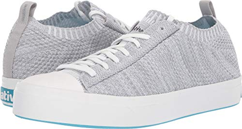 Native Shoes Unisex Jefferson 2.0 Liteknit Mist Grey Melange/Shell White 10 Women / 8 Men M US