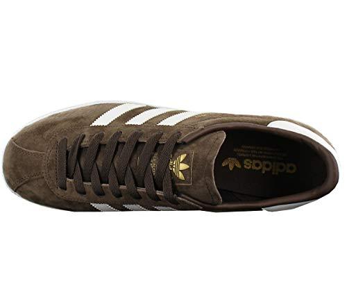 Mens Munchen Footwear Trainers Brown Adidas White Suede U71qdUw