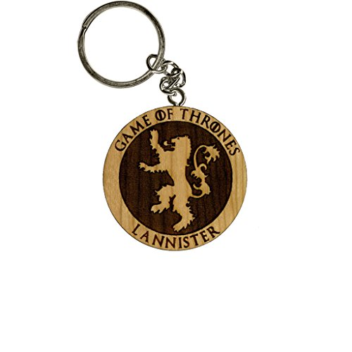 Inked and Screened Game Of Thrones Lannister Cherry Inked and Screened Laser Engraved Keychain (Game Of Thrones Subtitles compare prices)