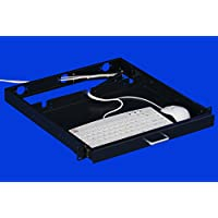 1U Rack Mount Sliding Keyboard Tray